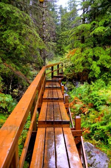 Baranof Alaska Boardwalk © Nicole Geils