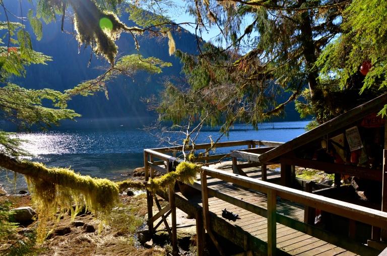 Bishop Bay Hot Spring Sunning Deck