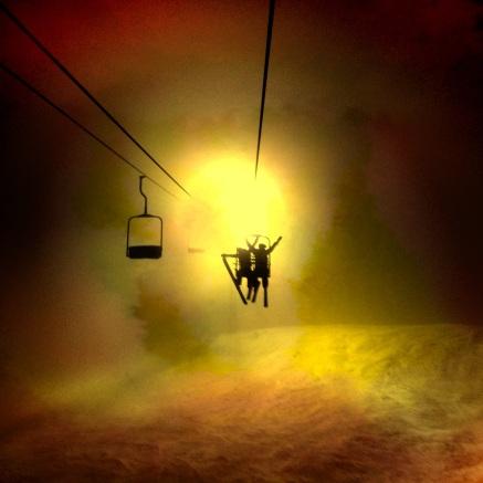 Night Skiing in Alaska