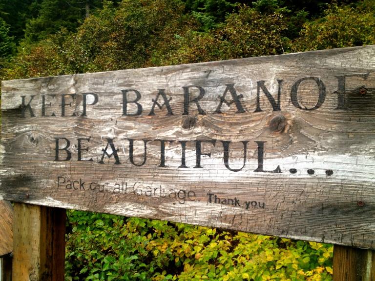 Keep Baranof Beautiful