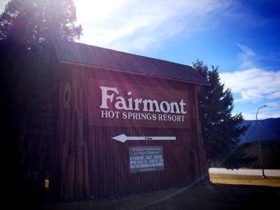 Fairmont Resort Entrance