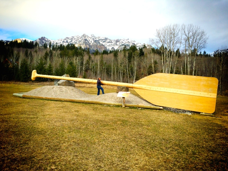 Worlds Largest Paddle
